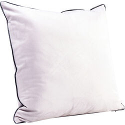 Cushion Edge Beige 45x45cm