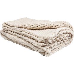 Blanket Yarn Beige  127x152cm