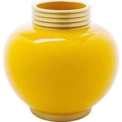 Vase Zebra Yellow 25cm