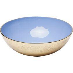 Bowl Olala Gold-Blue Big