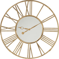 Wall Clock Giant Gold Ø120cm