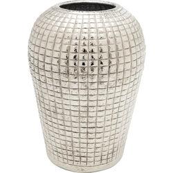 Deco Vase Cubes Alu 29cm