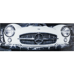 Picture Glass Oldtimer Front 60x160cm