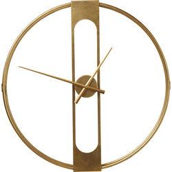 Orologio da parete Clip Gold Ø60cm