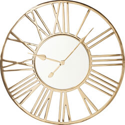 Wall Clock Giant Gold Ø80cm