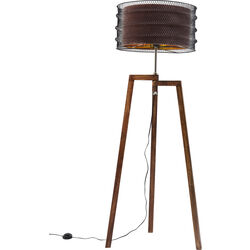 Floor Lamp Wire Tripod Mocca