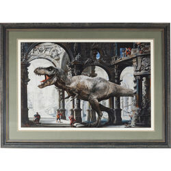 Picture Frame Art Dino 86x116cm