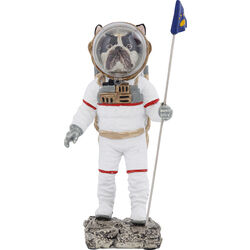 Deco Figurine Space Dog 26cm