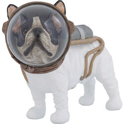 Deco Figurine Space Dog 21cm