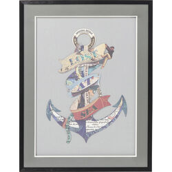 Picture Frame Art Anchor 80x60cm