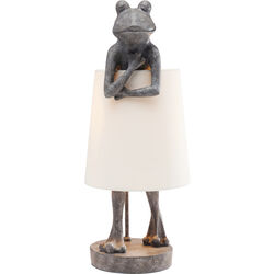 Table Lamp Animal Frog Grey