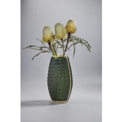 Vase Croco Green 36cm