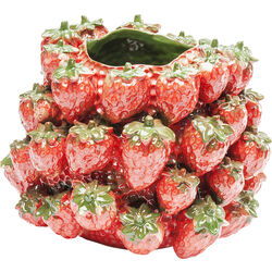 Vase Strawberry Field 25cm
