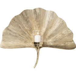 Wall Candle Holder Ginkgo Leaf 60cm