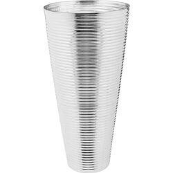 Vase Turbine Silver 50cm