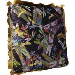 Cushion Tropical Garden Fringe 45x45cm