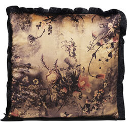 Cushion Romantic Garden Fringe 45x45cm