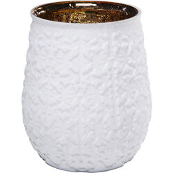 Vase Precious Ornament White 19cm