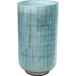 Vase Jute Light Blue 27cm