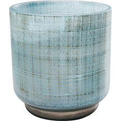 Vase Jute Light Blue 13cm