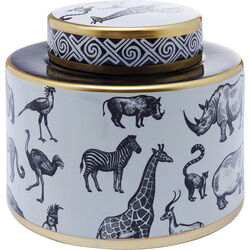 Deco Jar Animals 17cm