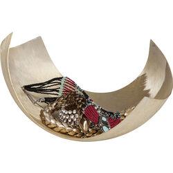 Deco Bowl Curvy Gold