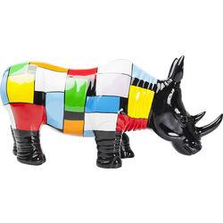 Figura decorativa  Rhino Colore