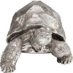 Figura decorativa Turtle argento medio