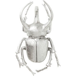 Wall Decoration Atlas Beetle Silver