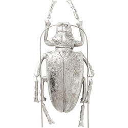 Wall Decoration Longicorn Beetle Silver