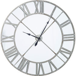 Wall Clock Factory Mirror Ø123cm