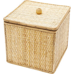 Deco Box Bamboo Square 21x21cm