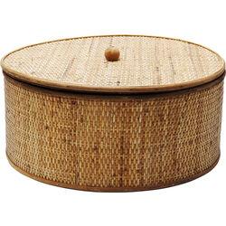 Deco Box Bamboo Round Ø41cm