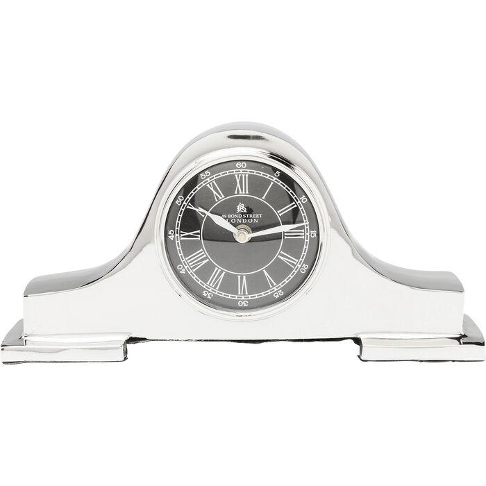horloge poser fireplace argent kare design. Black Bedroom Furniture Sets. Home Design Ideas