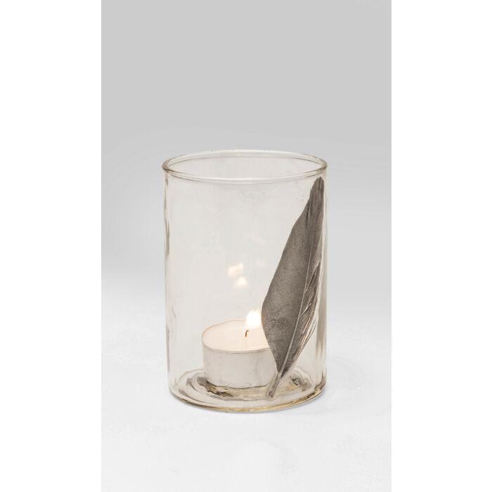 teelichthalter feather small kare design. Black Bedroom Furniture Sets. Home Design Ideas