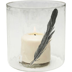 Tealight Holder Feather Medium