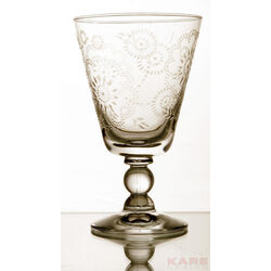 Wine glass Iceflower