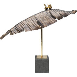 Deco Object Birds Banana Leaf 54cm