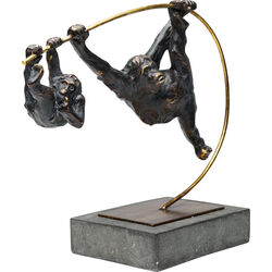 Deco Object Climbing Monkeys