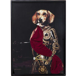 Picture Frame Sir Dog  80x60cm