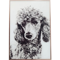 Picture Frame Alu Poodle 60x40cm