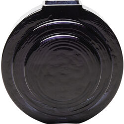 Vase Las Vegas Disc Black