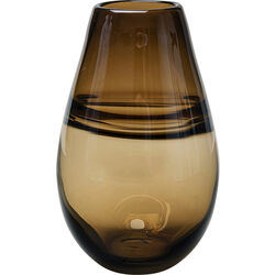 Vase Dallas Drop Brown 21cm