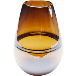 Vase Dallas Drop Brown 27cm