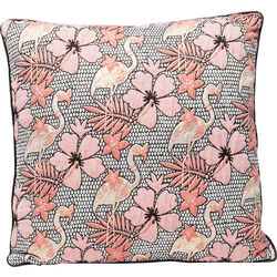 Cushion Flamingo Flowers 45x45cm