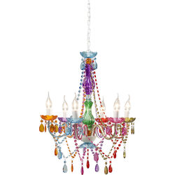 Pendant Lamp Starlight Rainbow 6-Branched