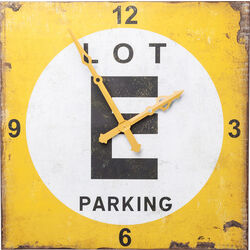 Wall Clock Parking Lot 101x101cm