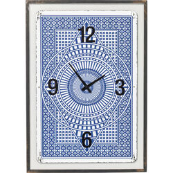 Wall Clock House of Cards