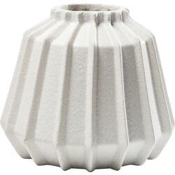Deco Vase Groove White