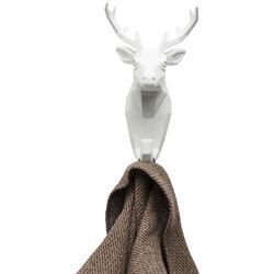 Wall Hook Deer White
